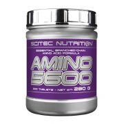 Аминокислотный комплекс от Scitec Nutrition Amino 5600 (50 порц/200 таб)