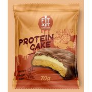 Протеиновое печенье с суфле от Fit Kit (арахисовая паста) (70 гр.)