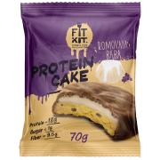 Протеиновое печенье с суфле от Fit Kit (ромовая баба) (70 гр.)