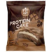 Протеиновое печенье с суфле от Fit Kit (шоколад с кофе) (70 гр.)