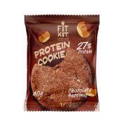 Протеиновое печенье от Fit Kit (шоколад-фундук) (40 гр.)