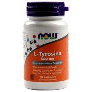 Тирозин от NOW L-Tyrosine 500 мг (120 порц/120 капс)
