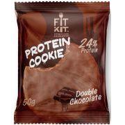 Протеиновое печенье от FitKit Protein chocolate сookie (двойной шоколад) (50 гр)