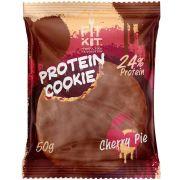 Протеиновое печенье от FitKit Protein chocolate сookie (вишня) (50 гр)