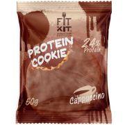 Протеиновое печенье от FitKit Protein chocolate сookie (капучино) (50 гр)