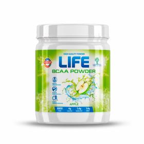 BCAA от LIFE (США) (яблоко) (40 порц/400 гр)