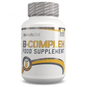 Комплекс витамина Б от BioTech (30 порц/60 капс)