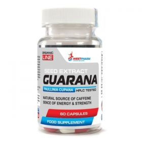 Кофеин от WestPharm - Guarana (60 порц/60 капс)