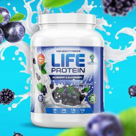 Протеин LIFE Protein (США) (черника и ежевика) (30 порц/907 гр)