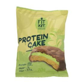 Протеиновое печенье с суфле от Fit Kit (фисташка) (70 гр.)