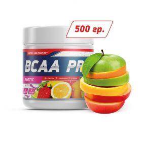 BCAA от Genetic Lab BCAA PRO powder (фруктовый пунш) (40 порц/ 500 гр)