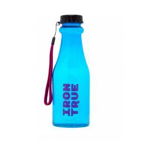 Бутылка 550ml IRONTRUE (ITB921-550) ((Черный-Голубой)