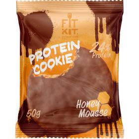 Протеиновое печенье от FitKit Protein chocolate сookie (мёд) (50 гр)
