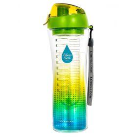Бутылка для напитков с фильтром, спортивная, 650 мл, LOCK&LOCK