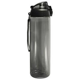 Бутылка для воды БЕЗ ЛОГОТИПА 700 мл, черная (SN2035-Blue-no)