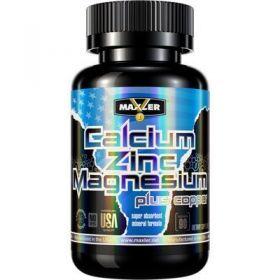Комплекс от Maxler Calcium Zinc Magnesium 90 tabs