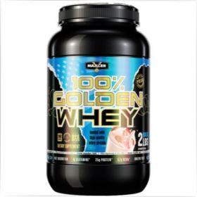 Протеин от Maxler Golden Whey 2 lb - Strawberry